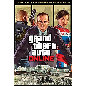 Criminal Enterprise Starter Pack -GTA V DLC Xbox One redeem