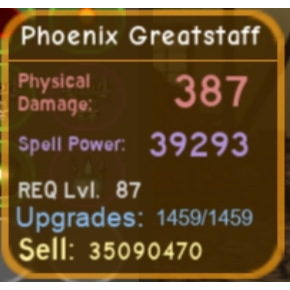 Other | Maxed high pot