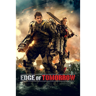 Edge of Tomorrow | Digital SD | Vudu | MA