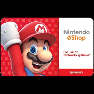 $20.00 Nintendo eShop (US) Instant Delivery