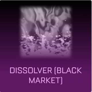 Dissolver | Selling Tact. Cert only!