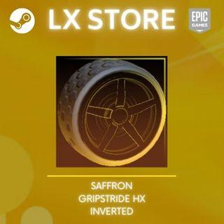 Gripstride HX: Inverted   Saffron