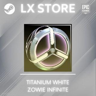 Zowie: Infinite   Titanium White