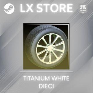 Dieci   Titanium White