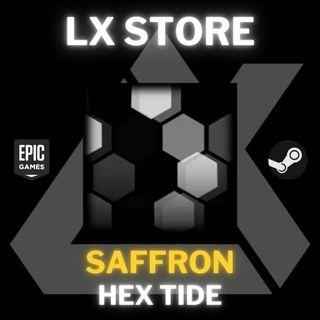 Hex Tide   Saffron