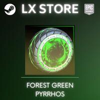 Forest Green Pyrrhos