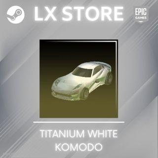 Komodo   Titanium White