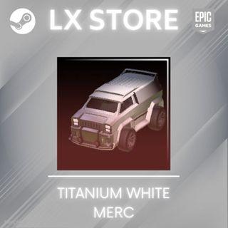 Merc   Titanium White