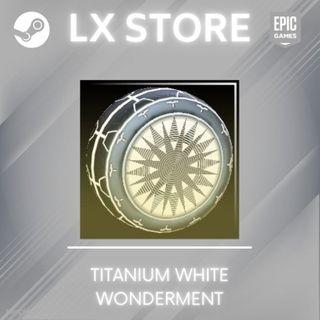 Wonderment   Titanium White