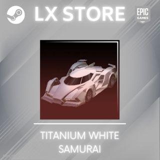 Samurai   Titanium White