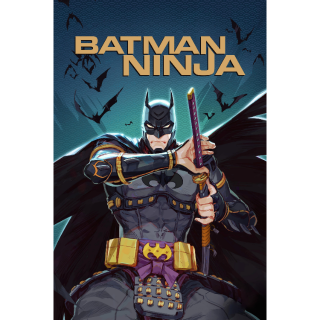 Batman Ninja HD Movies Anywhere