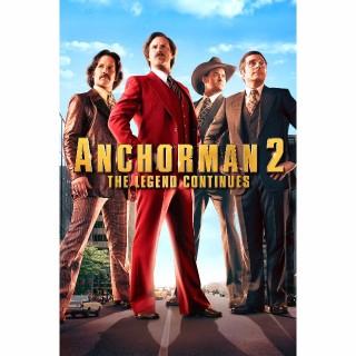 Anchorman 2: The Legend Continues HD UV