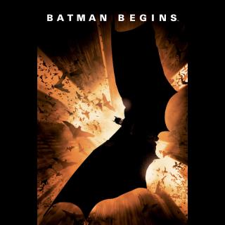 Batman Begins 4K Movies Anywhere