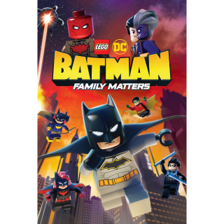 Lego DC Batman: Family Matters HD Movies Anywhere