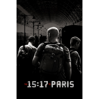 The 15:17 to Paris HD Movies Anywhere