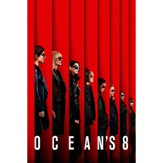 Ocean's Eight 8 4K Movies Anywhere