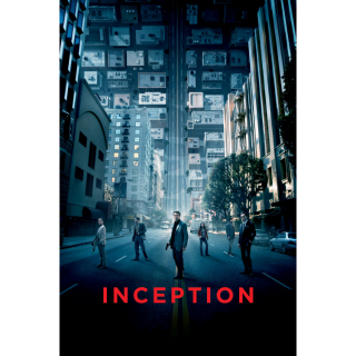 Inception HD Movies Anywhere