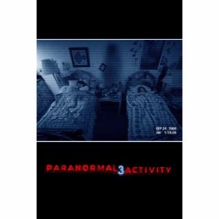 Paranormal Activity 3 HD UV