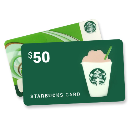 photograph relating to Starbucks Printable Gift Card identify Starbucks Giftcard 50$ - Other Present Playing cards - Gameflip