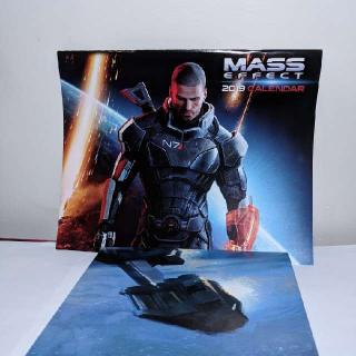 Mass Effect Calendar