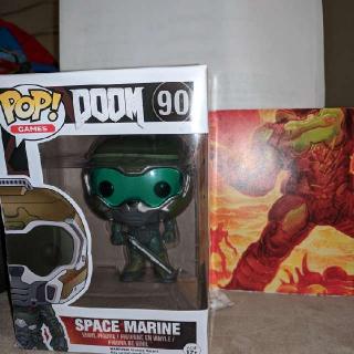 Doom Pop Figure