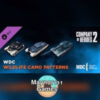 $15 Company of heroes 2 Whale and Dolphins pattern pack