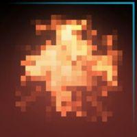 Pixel Fire | Sky Blue