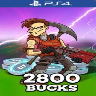 Code   V Bucks 2800