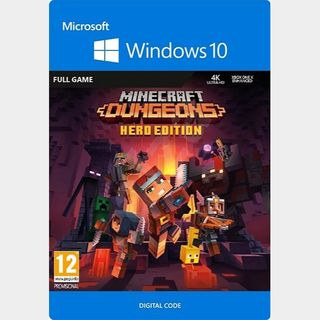 Minecraft Dungeons Hero Edition - Windows 10 PC Key TURKEY