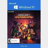 Minecraft Dungeons - Windows 10 PC Key TURKEY