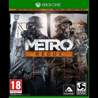 Metro Redux Bundle - Xbox One Digital Code (AR)