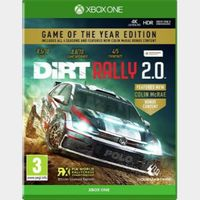 DiRT Rally 2.0 Game of the Year Edition - Xbox One Digital Code (AR)