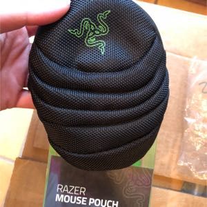 Razer gaming mouse pouch new in box