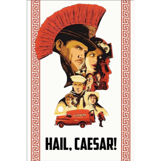 Hail, Caesar! HDX VUDU /   Actual Code Not Instawatch**