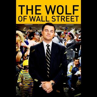 The Wolf of Wall Street HDX VUDU UV *NOT INSTAWATCH*