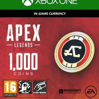 1000 Apex Legends Coins for Xbox One