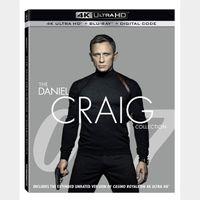 007 The Daniel Craig Collection (4K UHD / VUDU)