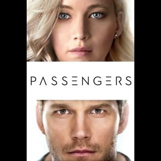 Passengers (4K UHD / MOVIES ANYWHERE)