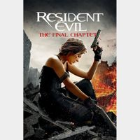 Resident Evil: The Final Chapter (4K UHD / MOVIES ANYWHERE)