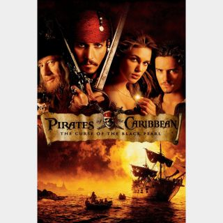 Pirates of the Caribbean: The Curse of the Black Pearl (4K UHD / iTunes) *Ports MA