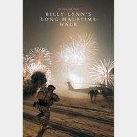 Billy Lynn's Long Halftime Walk (4K UHD / MOVIES ANYWHERE)