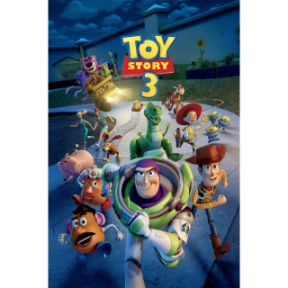 Toy Story 3 (4K UHD / MOVIES ANYWHERE)