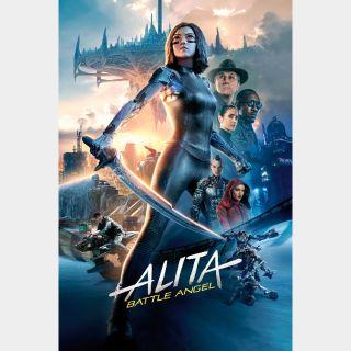 Alita: Battle Angel (4K UHD / MOVIES ANYWHERE / VUDU)