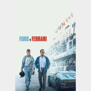 Ford v Ferrari (4K UHD / MOVIES ANYWHERE)