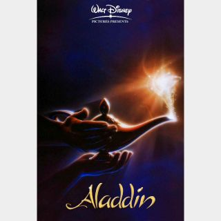 Aladdin (4K UHD / Movies Anywhere)(animation)