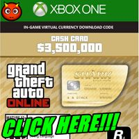 Grand Theft Auto Online: The Whale Shark Cash Card XBOX ONE GLOBAL 3 500 000 USD Key