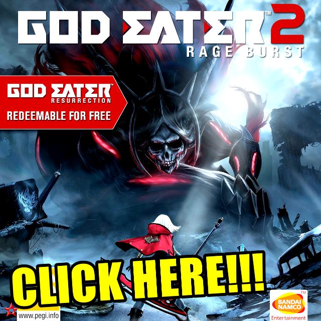God Eater 2 Rage Burst God Eater Resurrection Steam Key