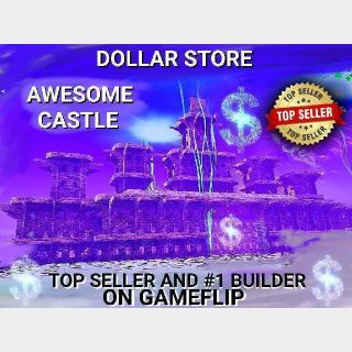 I will BUILD YOU AN EPIC CASTLE