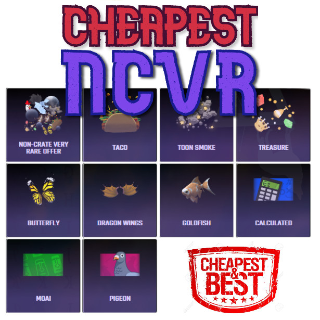 Bundle | 30x NCVR (Non-Crate Vr)