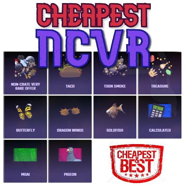 Bundle | 20x NCVR (Non-Crate Vr)